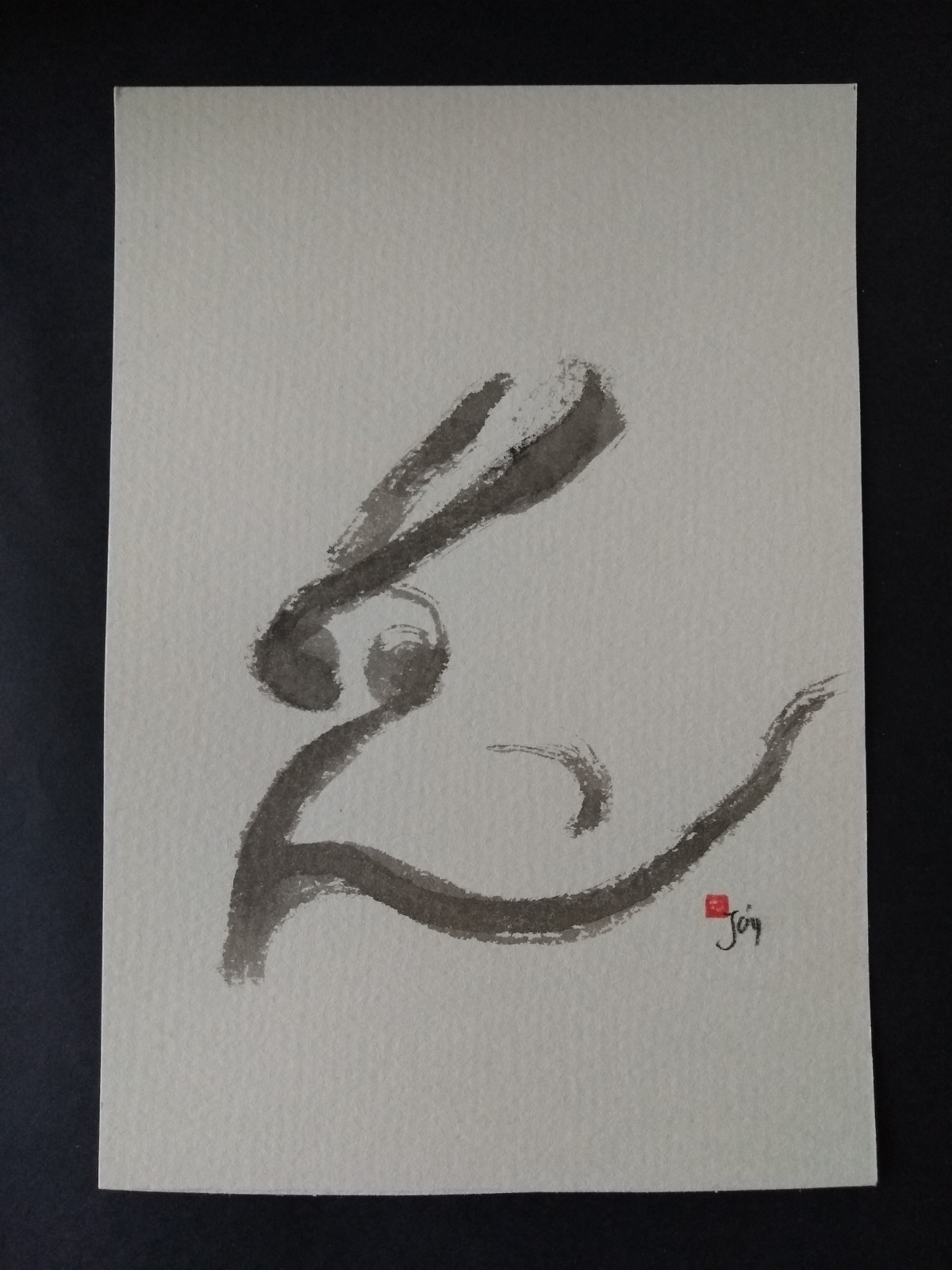 Hare. Gentle, quiet, elegant.